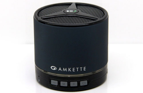 Amkette FDD663GR Trubeats Metal 2 Portable Bluetooth Speaker