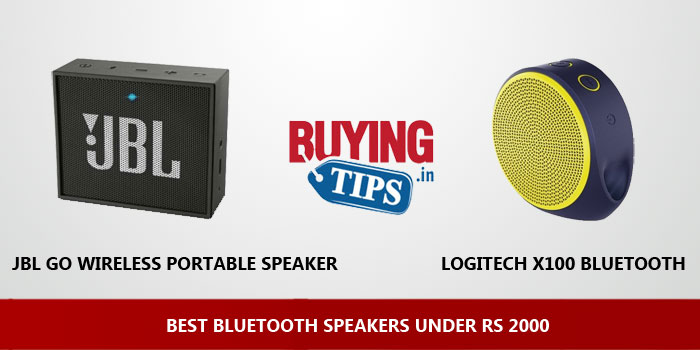 Best Bluetooth Speakers under 2000 Rs: May 2019