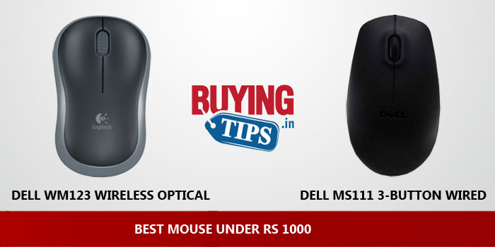 Best Mouse under 1000 Rs: May 2019