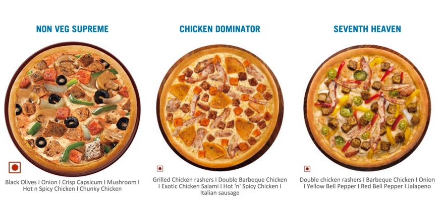Dominos Best Pizza and Crust in India