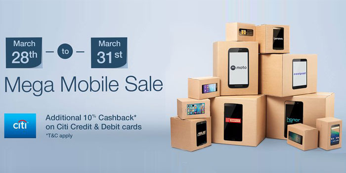 Amazon Mega Mobile Sale