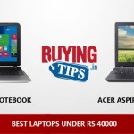 Best Laptops Under Rs 40000