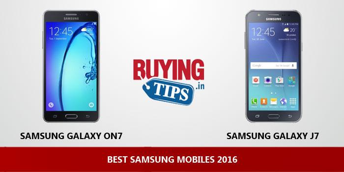 Best Samsung Mobiles 2016