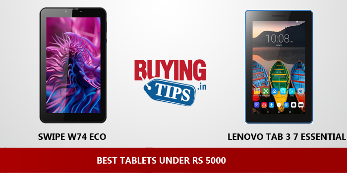 BEST TABLETS UNDER RS 5000