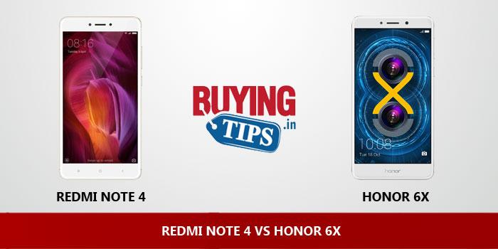 REDMI NOTE 4 VS HONOR 6X