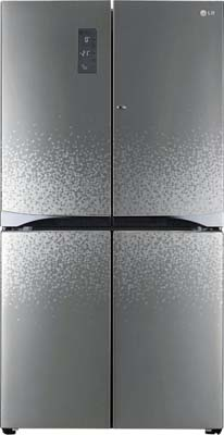 LG 725 L Frost Free Side by Side Refrigerator