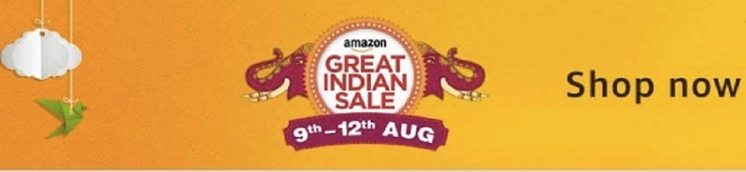 Amazon Great Indian Sale August 10 2017