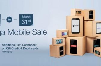 Amazon Mega Mobile Sale: Ends March 31st 2016
