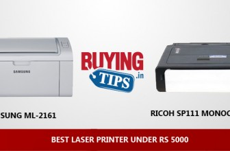 Best Laser Printer under 5000 Rs in India: February 2018