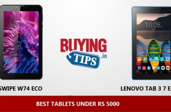 Best Tablets Under 5000 Rs: December 2018