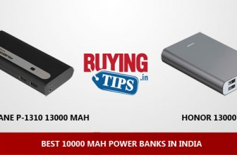Best 10000 mAh Power Banks in India: August 2017
