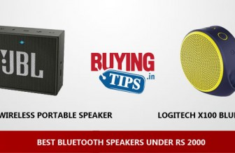 Best Bluetooth Speakers under 2000 Rs: February 2018