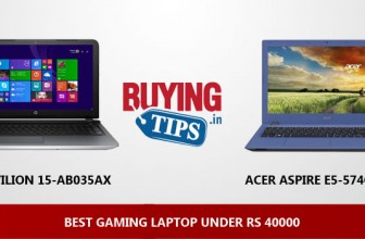 Best Gaming Laptop under 40000 Rs: January 2018