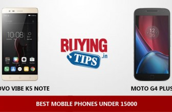 Best Mobile Phones under 15000 Rs: January 2017