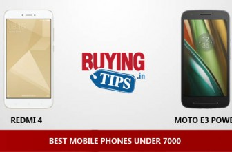 Best Mobile Phones under 7000 Rs: December 2017