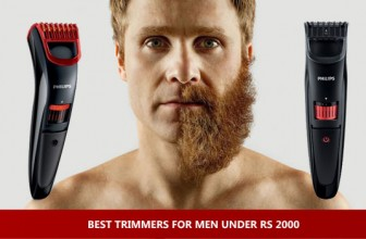 Best Trimmers for Men under Rs 2000 : February 2019