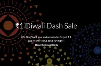 OnePlus Diwali Dash Sale from October 24th to 26th