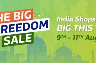 Flipkart Freedom Sale August 10 2017