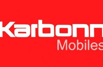 Karbonn Mobile Price List India