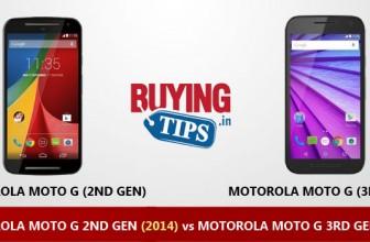 Motorola Moto G 2014 vs Moto G 2015