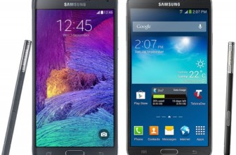 Samsung Galaxy Note 4 vs Note 3