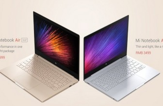 Mi Notebook Air: 12.5 and 13.3 inch laptops launched